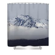 Sheep Mountain Storm Shower Curtain