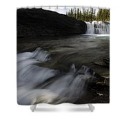 Sheep River Falls Alberta Canada 1 Shower Curtain