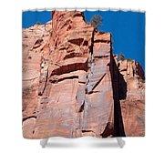 Sheer Canyon Walls Shower Curtain