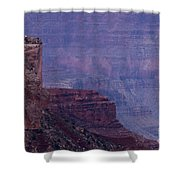Sheer Cliff Shower Curtain