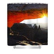 Sheer Magic Mesa Arch Utah Shower Curtain