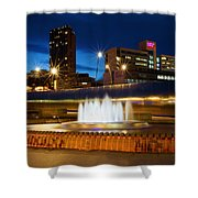 Sheffield Water Feature Shower Curtain