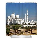 Sheikh Zayed Bin Sultan Al Nahyan Grand Shower Curtain