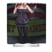 Shelby Chong Shower Curtain