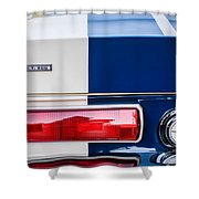 Shelby Cobra G.t. 500 Rear Emblems -0036c Shower Curtain