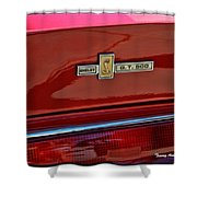 Shelby Gt 500 Mustang 4 Shower Curtain