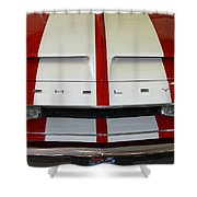 Shelby Hood Shower Curtain