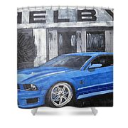 Shelby Mustang Shower Curtain