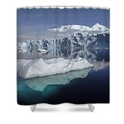 Sheldon Glacier Shower Curtain