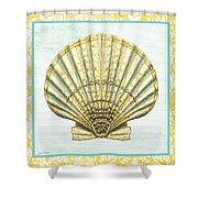 Shell Finds-a Shower Curtain