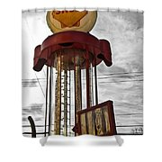 Shell Invisible Pump Color Shower Curtain