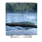 Shell Rock Rapids Two Shower Curtain