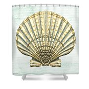 Shell Treasure-a Shower Curtain