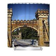 Shellhaven Bridge Shower Curtain
