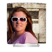 Shelly And Queen Elizabeth Shower Curtain