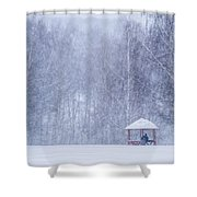 Shelter In The Storm - Featured 3 Shower Curtain