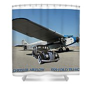 Shelter Of Your Wings Shower Curtain