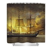 Sheltering Sky Shower Curtain