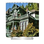 Shelton-mcmurphey House Shower Curtain