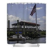 Shem Creek Bar And Grill Shower Curtain