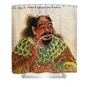 Shen Nung (c2800 B.c.) Shower Curtain