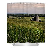 Shenandoah Corn Shower Curtain