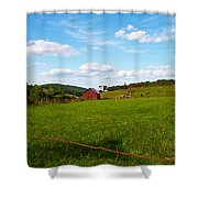 Shenandoah Farm Shower Curtain