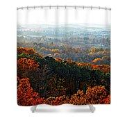 Shenandoah Valley Fall Panorama Shower Curtain