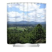 Shenandoah Valley Panorama Shower Curtain