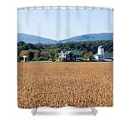 Shenandoah Valley Farmstead Shower Curtain