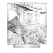 Sheriff Shower Curtain