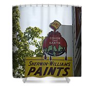 Sherwin Williams Shower Curtain