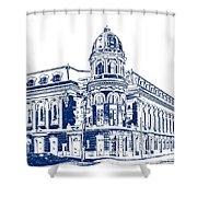 Shibe Park 2 Shower Curtain by John Madison