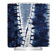 Shibori 3 Shower Curtain