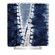 Shibori 3 Shower Curtain