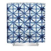 Shibori Iv Shower Curtain
