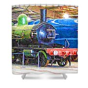 Shildon Railway Museum In England Shower Curtain