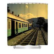 Shimla Railway Station Shower Curtain