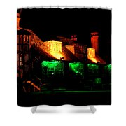Shimla At Night Shower Curtain