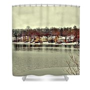 Lake Lochmere  Shower Curtain