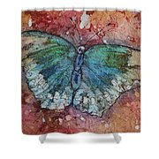 Shimmer Wings Shower Curtain