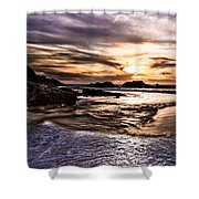 Shimmering Sea Shower Curtain