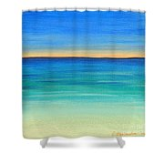 Shimmering Sea Shower Curtain