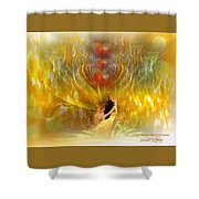 Shine In Love Shower Curtain