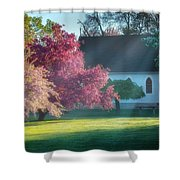 Shine The Light On Me Square Shower Curtain
