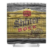 Shiner Bock Shower Curtain