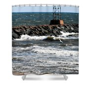 Shinnecock Inlet Shower Curtain