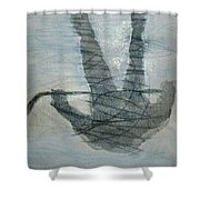 Shinny Shilouette Wc Shower Curtain