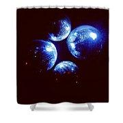 Shiny Disco Balls Shower Curtain