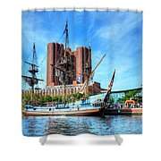 Ship Ahoy Shower Curtain